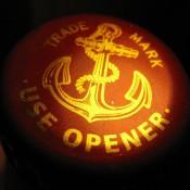 kapsel od piwa Anchor Liberty Ale