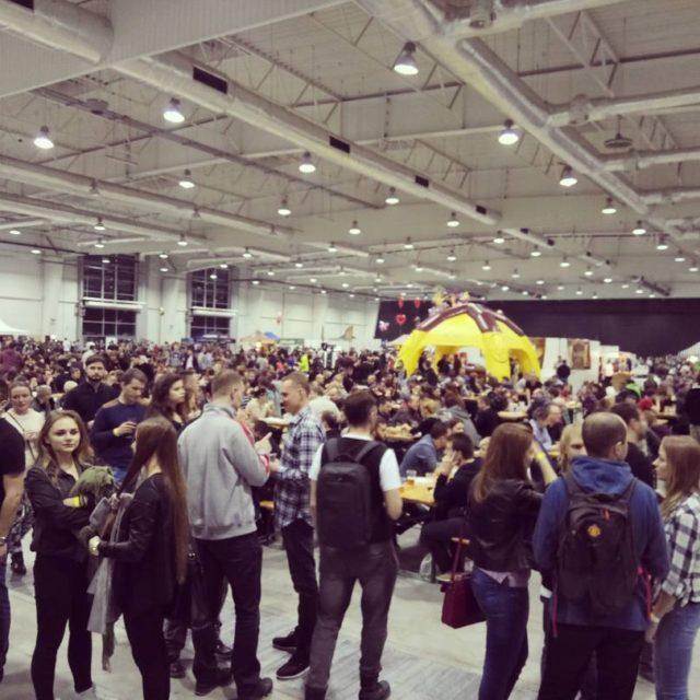 Once again lubelskietargipiwne are very crowded  piworzemieslnicze piwo beerstagramhellip