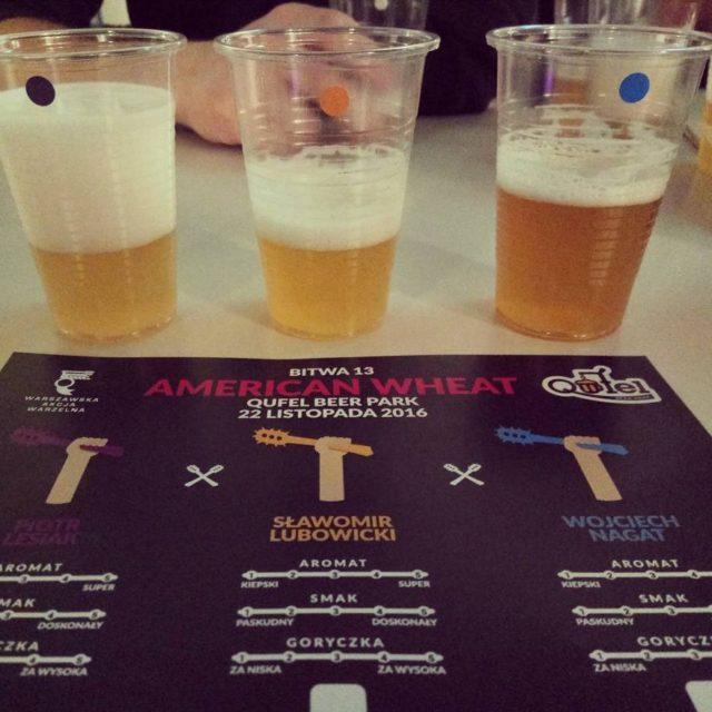 Homebrewed beer battle in Warsaw pub Qufel Beer Park qufelhellip